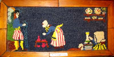 Needlepoint of the Quimper works